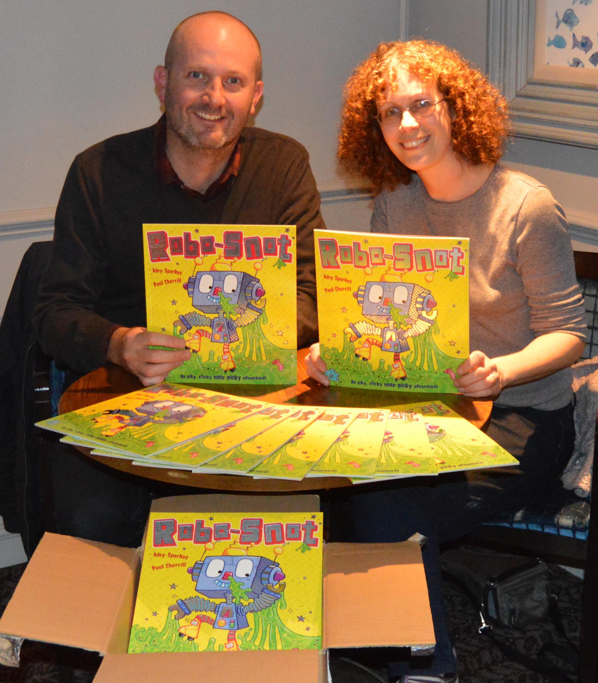 Paul Cherrill & Amy Sparkes Photo: Aisling Taylor Photography